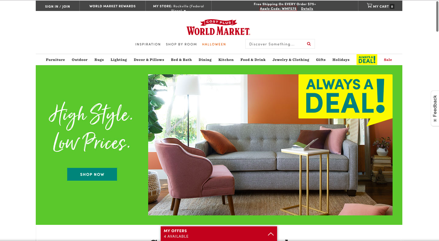 world market website