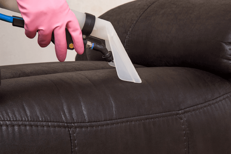 Vacuum leather furniture