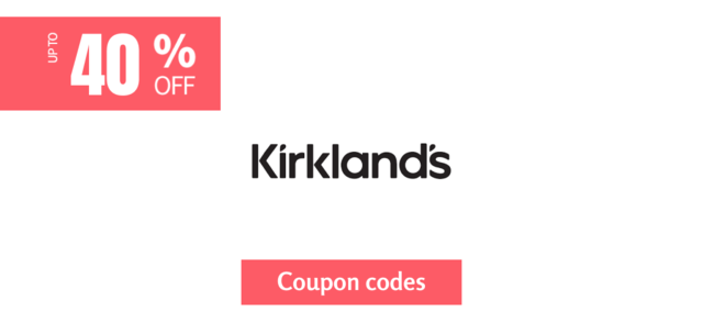 kirklands 40% off