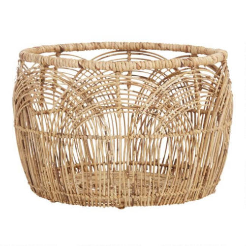 Large Natural Rattan Eve Basket /$69.99
